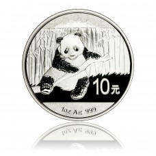 Silbermünze China Panda 1 oz