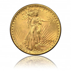 Goldmünze, USA, 20 Dollar, St. Gaudens