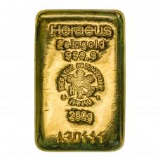 Goldbarren 250 g