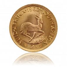 Goldmünze Südafrika 2 Rand