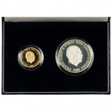 Münzsatz Liechtenstein 50 & 10 Franken 1988