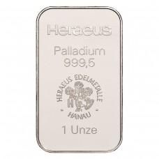 Palladiumbarren 31,1 g (1 Unze)
