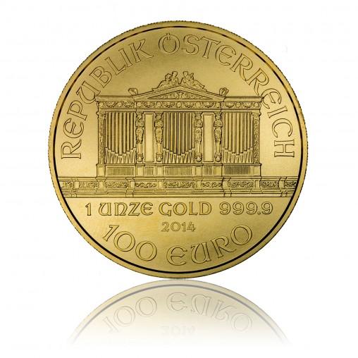 Goldmünze Wiener Philharmoniker 1 Oz Goldmünzen