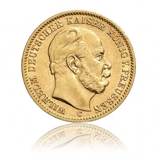 Goldmünze Preussen 20 Mark Wilhelm I Goldmünzen