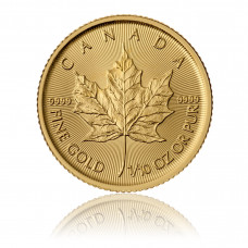 Gold coin Maple Leaf 1/10 oz