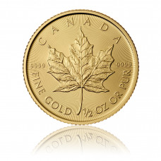 Gold coin Maple Leaf 1/2 oz