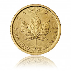 Gold coin Maple Leaf 1/4 oz