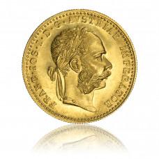 Gold coin, Austria, 1 Dukat 1915