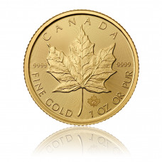 Gold coin Maple Leaf 1 oz