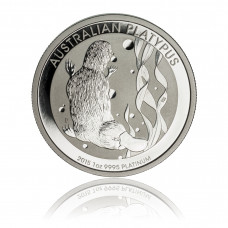 Platinum coin 1 Oz Platypus