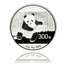 Silver coin China Panda 1 Kg