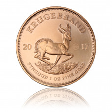 Gold coin Krugerrand 1 oz 2017, 50th Anniversary