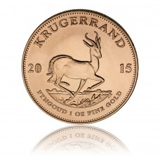 Gold coin Krugerrand 1 oz
