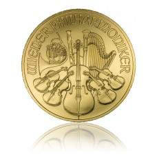 Gold coin Vienna Philharmonics 1 oz