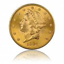 Gold coin, USA, 20 Dollar Liberty Head