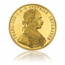 Gold coin, Austria, 4 Dukaten 1915
