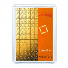 Gold bar 100 x 1 g / CombiBar