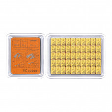 Gold bar 50 x 1g / CombiBar