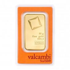 Gold bar 50 g