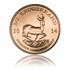 Gold coin Krugerrand 1/2 oz