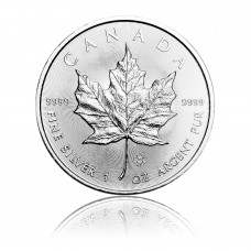 Silver coin Maple Leaf 1 oz
