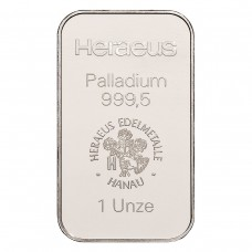 Palladium bar 31,1 g (1 Ounce)