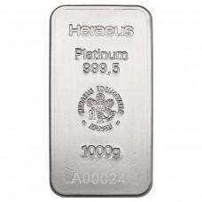 Platinum bar 1 Kg