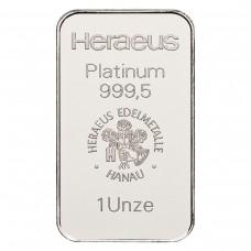 31,1 g Platinum Bar (1 Ounce)